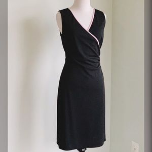 Express Black & pink trim Sleeveless Dress Size 6